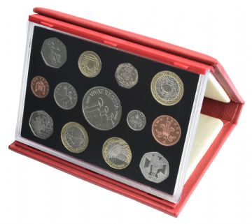 2006 Proof set Red Leather deluxe